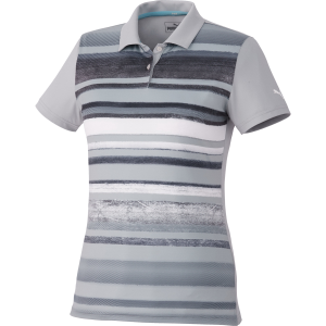 Women's PUMA Washed Stripe Polo PC